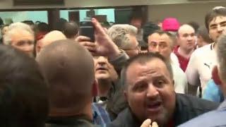 Pamje trishtuese se si goditet Zoran Zaev dhe Ziadin Sela (VIDEO+16)