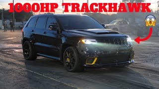 WE RACED THE FASTEST TRACKHAWK IN THE WORLD! *CRAZY FAST*