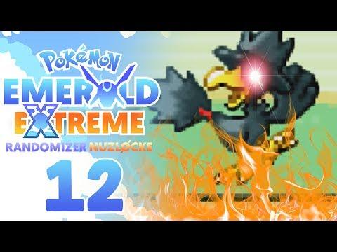WHY MURKROW!?! TERRIBLE LUCK!!   Pokemon Emerald EXTREME Randomizer Nuzlocke Part 12