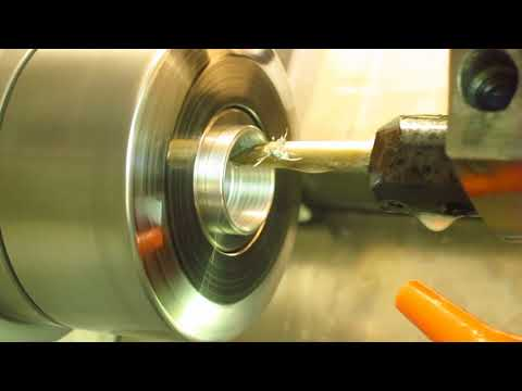 cutting internal thread and drilling deep hole