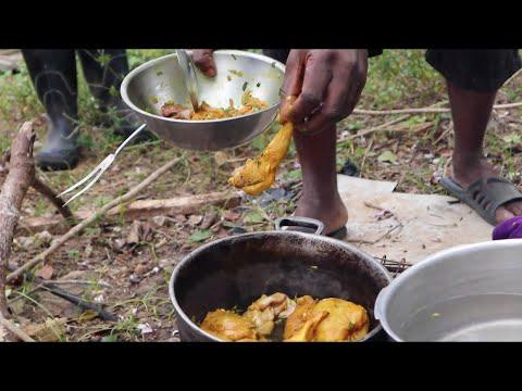 Rabbit Catch and Cook | Jamaica Outdoor Cooking