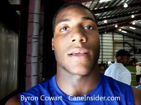 Byron Cowart talks Miami