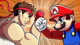 What If Smash Was A Traditional Fighting Game