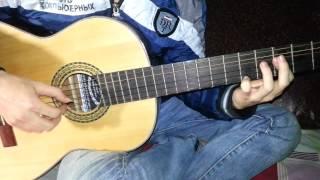 Tình Nhi Nữ   Guitar Solo