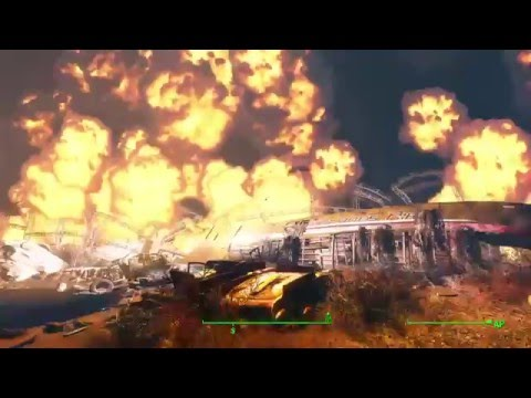 Fallout 4 (Rockets Red Glare) *Spoiler* Destroy The Prydwen HD