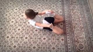Уроки танцев от Кати: Как быстро получить растяжку. #1.