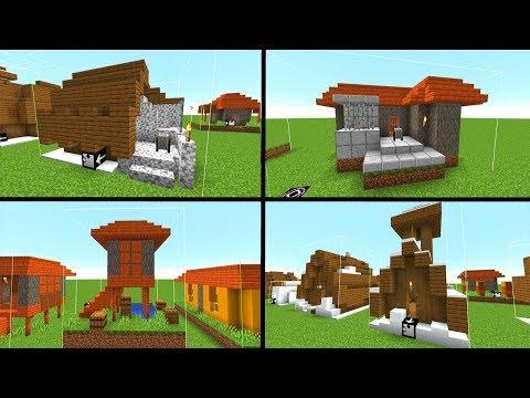 Minecraft 1.14 Update - ALLE Schneehäuser & Savannahäuser! - Snapshot 18w49a