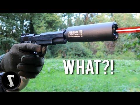 Airsoft Gun SHOOTS Actual LASERS