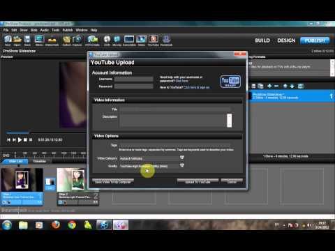 Hướng dẫn xuất video vừa nhẹ vừa nét trong Proshow Producer 5.0