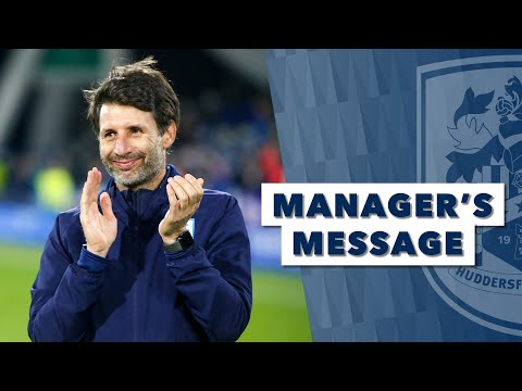 🗣 MANAGER'S MESSAGE | Danny Cowley On Blackburn Rovers Win