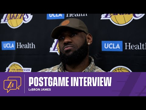 Lakers Postgame: LeBron James (2/20/21)