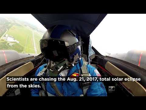NASA's WB-57F Jet Planes will Chase The Total Solar Eclipse  Aug. 21 2017