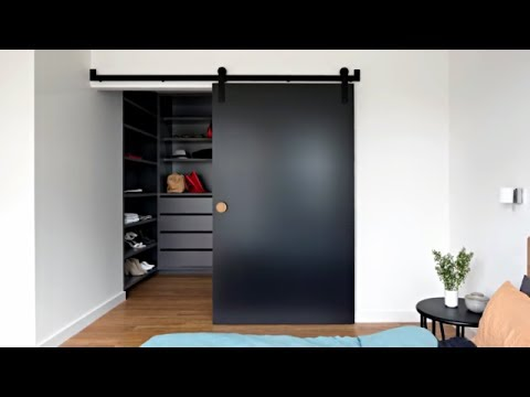 53 Desain Modern Pintu Geser Youtube