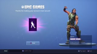 UNLOCKING BOOGIE DOWN EMOTE IN FORTNITE BATTLE ROYALE!