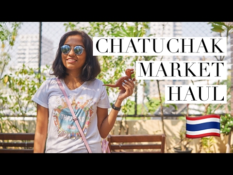 Bangkok Shopping | Chatuchak Weekend Market Haul // Magali Vaz