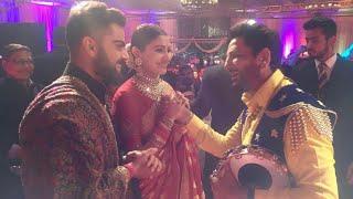 Virat Kohli & Anushka sharma Reception Gurdas Maan Live