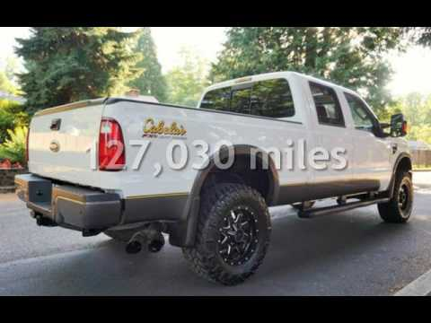 2009 Ford F-350 4X4 Cabelas FX4 Turbo Diesel Loaded for sale in Milwaukie, OR