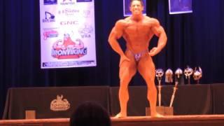 Chris Santamaria NPC Iron Viking Guest pose 2016