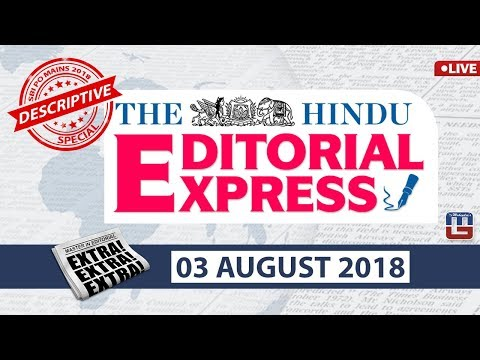 The Hindu Editorial Express At 8 Am | 03 August | UPSC, RRB, SBI, IBPS, SSC