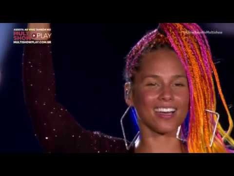 Alicia Keys - No One, Empire State of mind (Live From Rock In Rio Brazil)