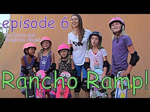 The Bryce and Brighton ! Episode 6: Rancho Ramp Vert Sesh!