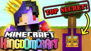 My SECRET Underground Base in KingdomCraft Minecraft Factions 👑 (Ep 3)