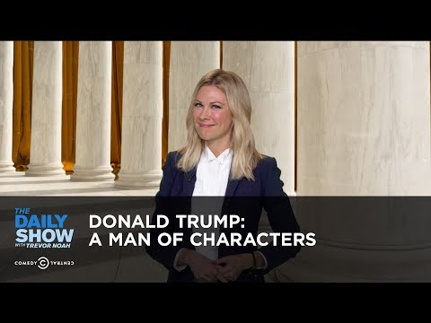 Download Youtube: Donald Trump: A Man of Characters: The Daily Show