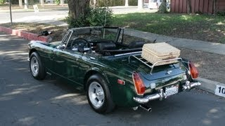 1973 MG midget restored California Car