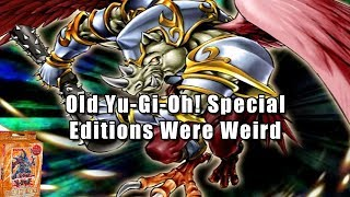 Old Yu-Gi-Oh! Special Editions Were Weird