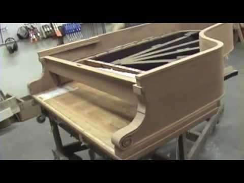 Faust Harrison Pianos: Factory tour with Irving Faust in White Plains, NY