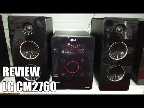 Review LG CM2760 Nueva microcadena Bluetooth 2016