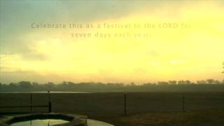 Sukkot 2011 Chappell Hill, Texas - Part 1 Thumbnail