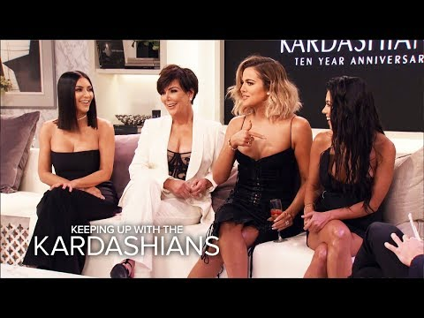 "KUWTK | OMG! Moments From the ""Kardashians 10th Anniversary Special"" 