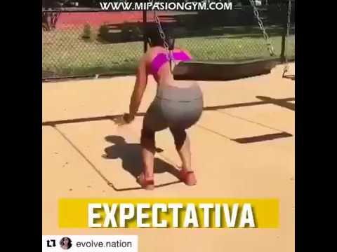 Video divertido hacer ejercicio expectativa vs realidad for Hacer ejercicio