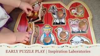 Early Puzzle Play For Babies And Toddlers