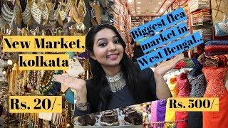 New market kolkata    esplanade market biggest flea market 😳🤭. Street shopping in Kolkata