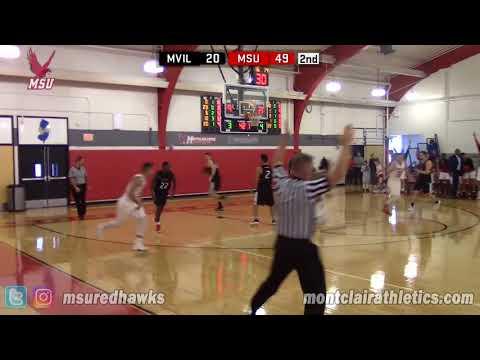 Montclair State Men's Basketball Highlights vs. Manhattanville - 12/29/17