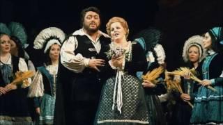 Di g.verdi, atto i - direttore: jesús lópez-cobos luisa: katia ricciarelli rodolfo: luciano pavarotti miller: louis quilico san francisco, live 29.11...