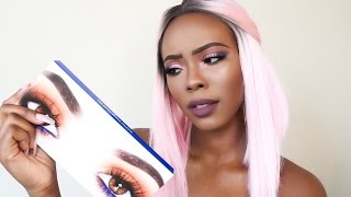 Is Kylie's Royal Peach Palette For Dark Skinned Girls ?  Demo +  First Impressions & Swatches