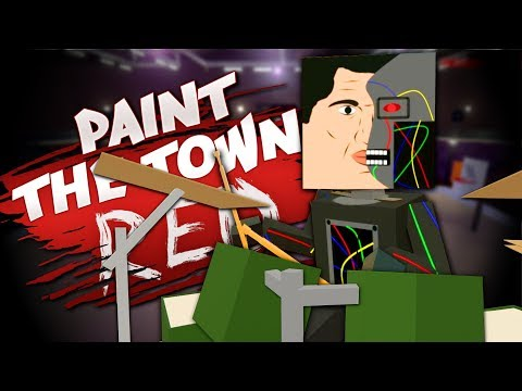 THE CYBORG INVASION - Best User Made Levels - Paint the Town Red