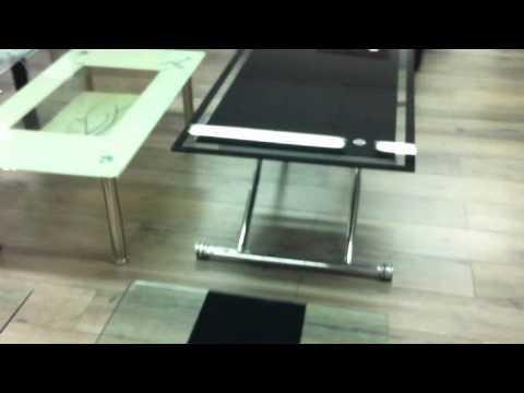 table basse ascenseur youtube. Black Bedroom Furniture Sets. Home Design Ideas