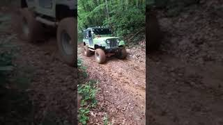 Jeep cj8 fena