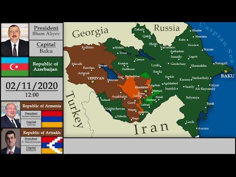[2020] Nagorno-Karabakh War | Every Day