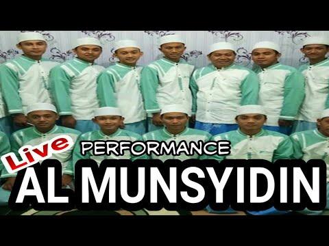 Al Munsyidin terbaru Live full