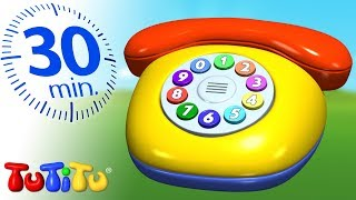 TuTiTu Specials | Phone | Toys For Toddlers | 30 Minutes Special