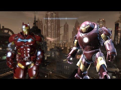 Batman Arkham Origins Iron Man Hulkbuster Suit Mod