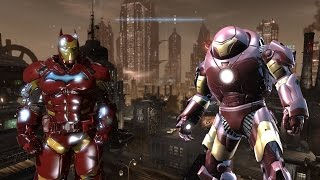 Batman Arkham Origins Iron Man Hulkbuster Suit Mod