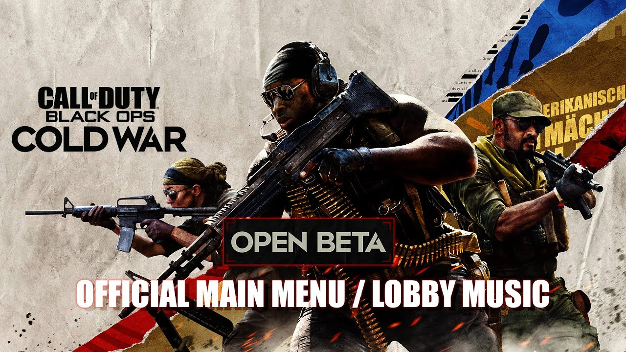 Call of Duty®: Black Ops Cold War - MULTIPLAYER LOBBY MUSIC THEME SONG (Main Menu Theme - Open Beta)