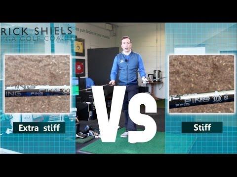 Extra Stiff Shaft Vs Stiff Shaft Test
