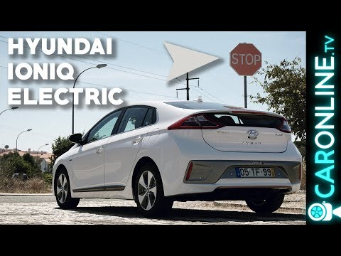 HYUNDAI IONIQ ELECTRIC DESAFIO sem TRAVAR![Review Portugal]
